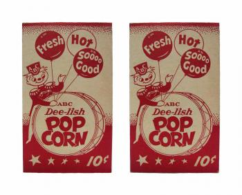 ABC Dee-lish Popcorn Box