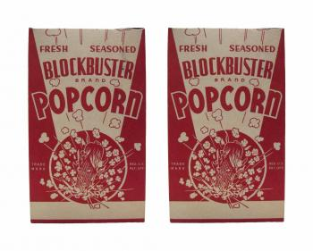 Blockbuster Popcorn Box