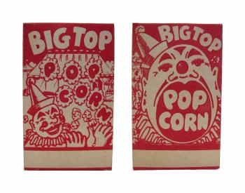 Big Top Popcorn Box