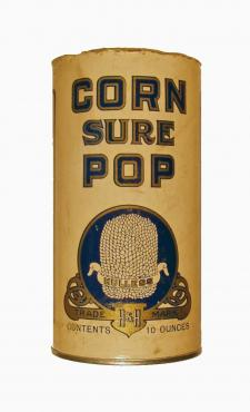 Corn Sure Pop Popcorn Tin