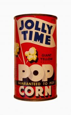 Jolly Time Popcorn Tin