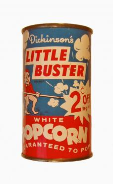 Little Buster Popcorn Tin