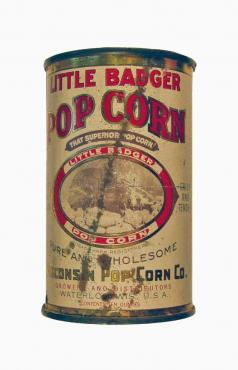 Little Badger Popcorn Tin