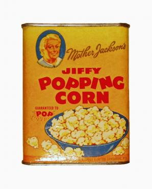 Mother Jackson's Popcorn Tin